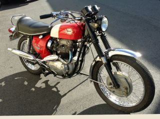 1969 Bsa Firebird Scrambler 650 (rare Opportunity) photo