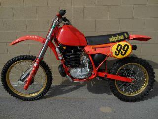 1982 Maico Mc490 Mc 490 250 Gp Rs Alpha 1 Ahrma Vintage Race Bike photo