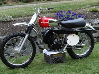 1968 Husqvarna Viking 360 Documented Bill Nilssons Race Bike photo