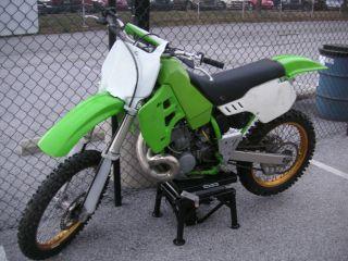 Street Legal Plated / Registered / Insured 2002 Kawasaki Kx500 photo