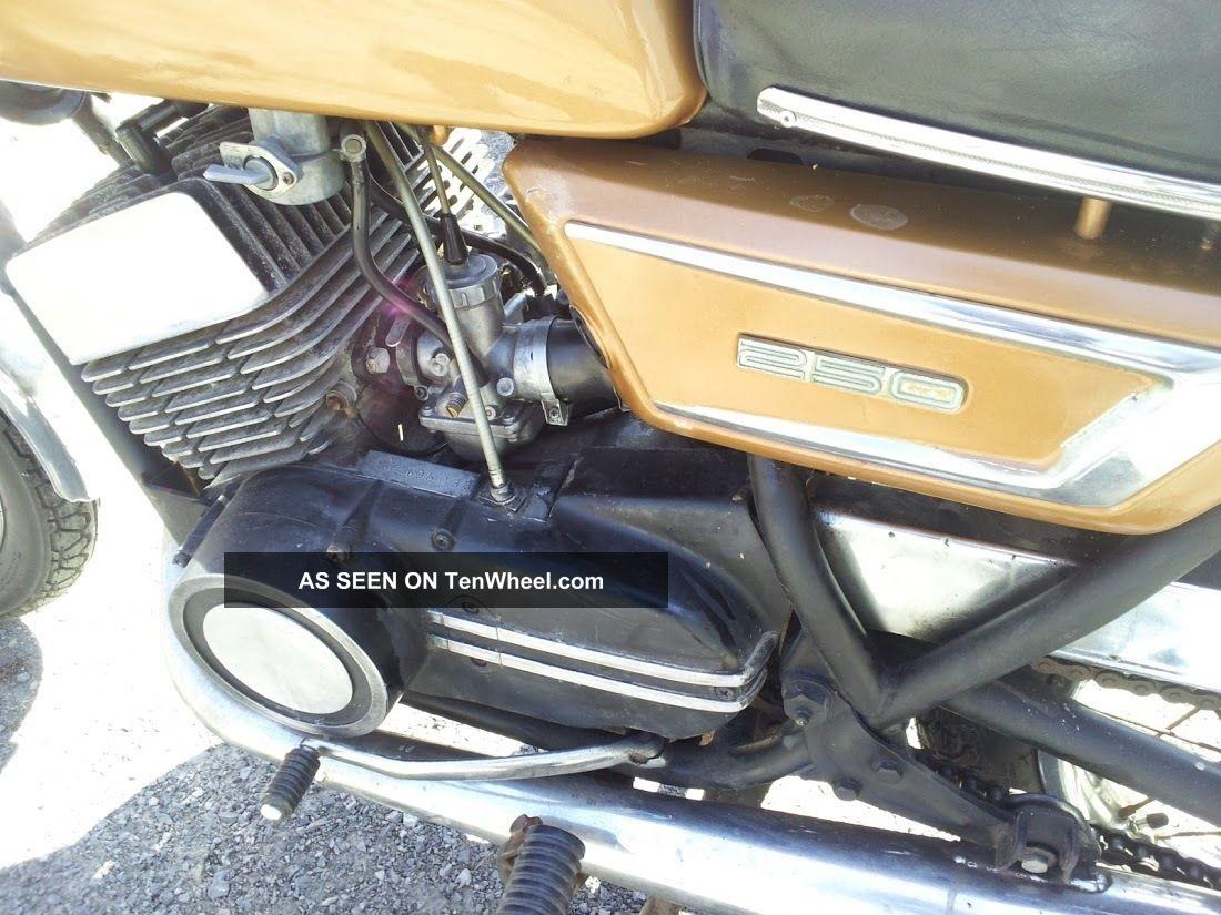 1971 Yamaha Ds7 R5 Rd 250 Vintage Bike Runs Very Well