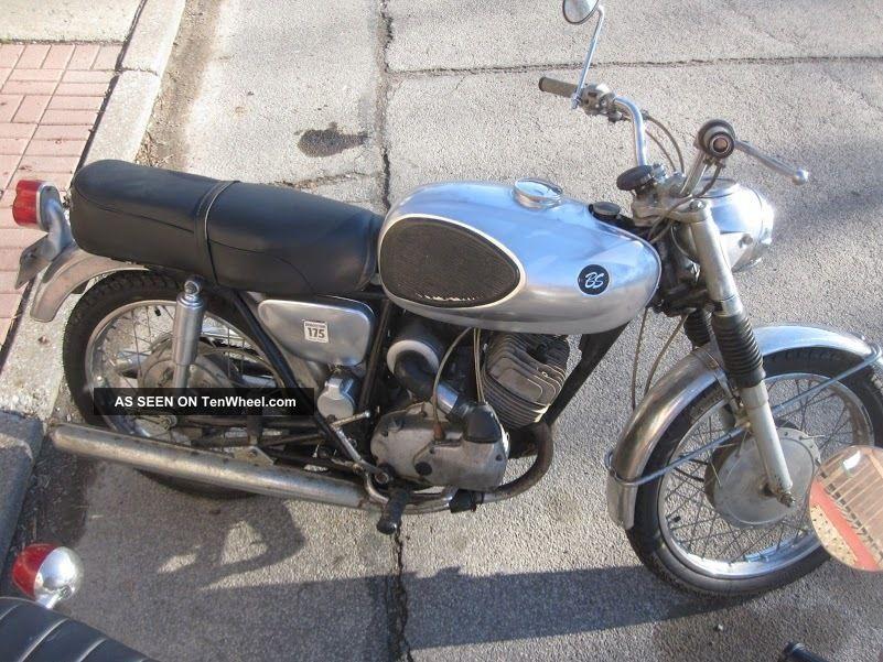 1966 Bridgestone 175 Dual Twin Vintage Bike Runs Very Well