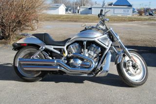 2002 Harley - Davidson Vrsca Silver Great Shape Way Below Kbb photo