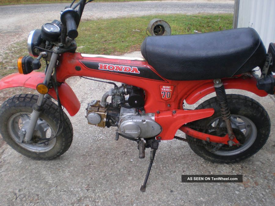 1982 Honda Mini Trail 70 CT photo