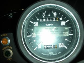 1979 Triumph Bonneville 750 Motorcycle T140e photo
