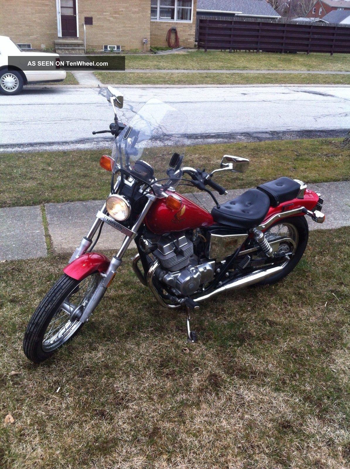 Honda Rebel 250 Cmx  1986