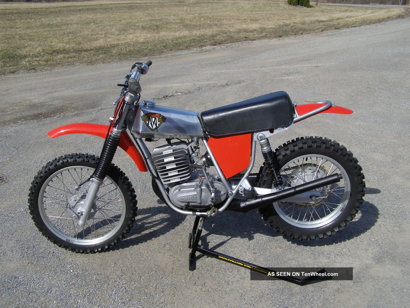 1974.  5 Maico Mc400 Gp Wheelsmith.  Thor,  Show And Go. Other Makes photo