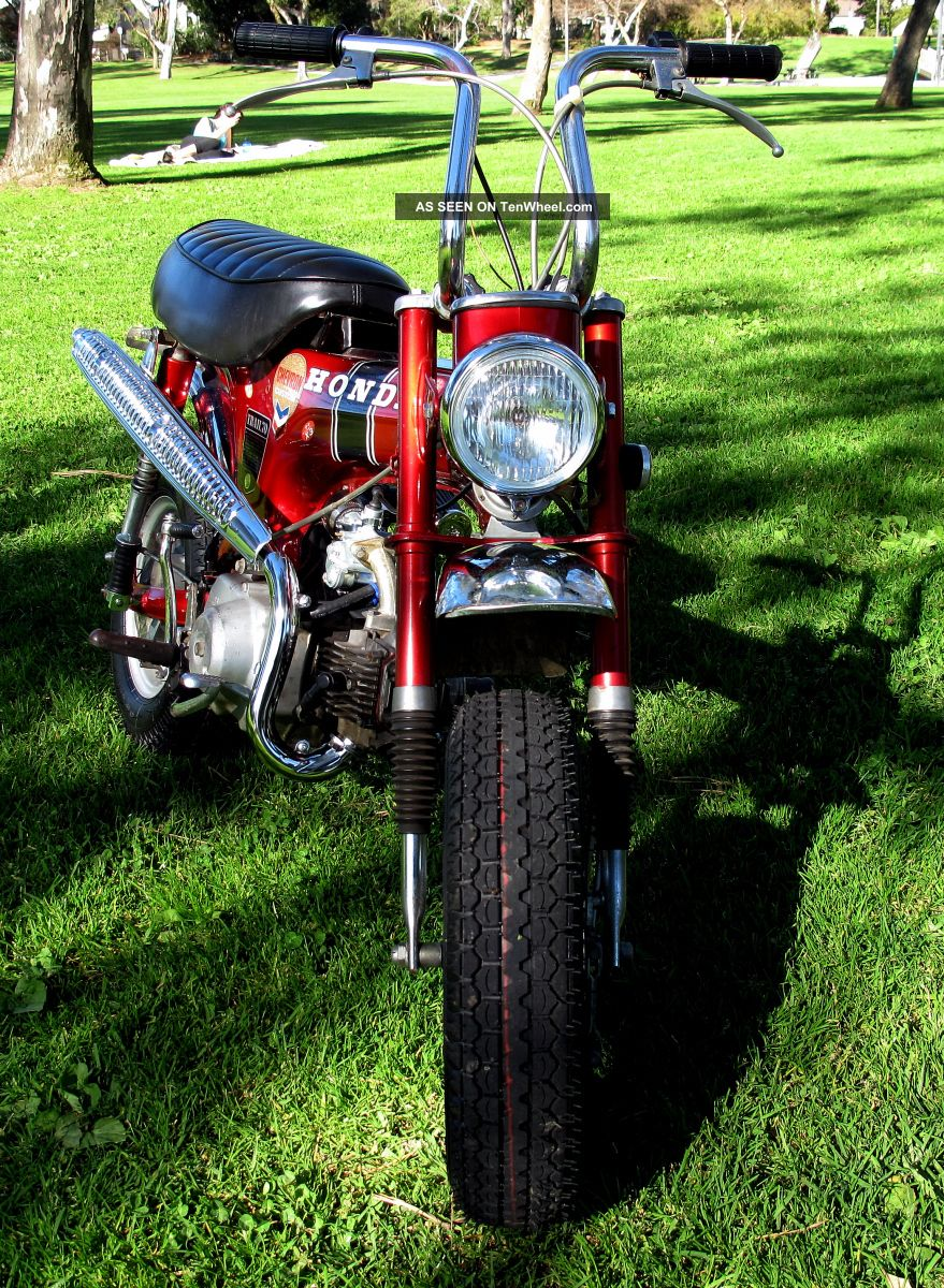 Indian Trail Dodge >> 1968 Honda Trail 70 (ct70) Second Owner, Title