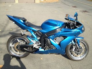 2005 Yamaha R1 Custom Chrome Wheels Hotbodies Exhaust Paint,  Gsxr,  Cbr,  R6 photo