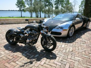 2004 Confederate F124 Hellcat Motorcycle,  Rare,  Awesome American Built,  C / F photo