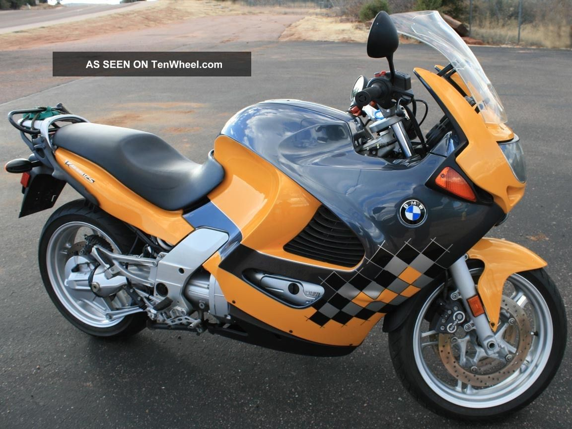 2001 bmw k1200 rs graphite metalic yellow 4 cylinder. Black Bedroom Furniture Sets. Home Design Ideas