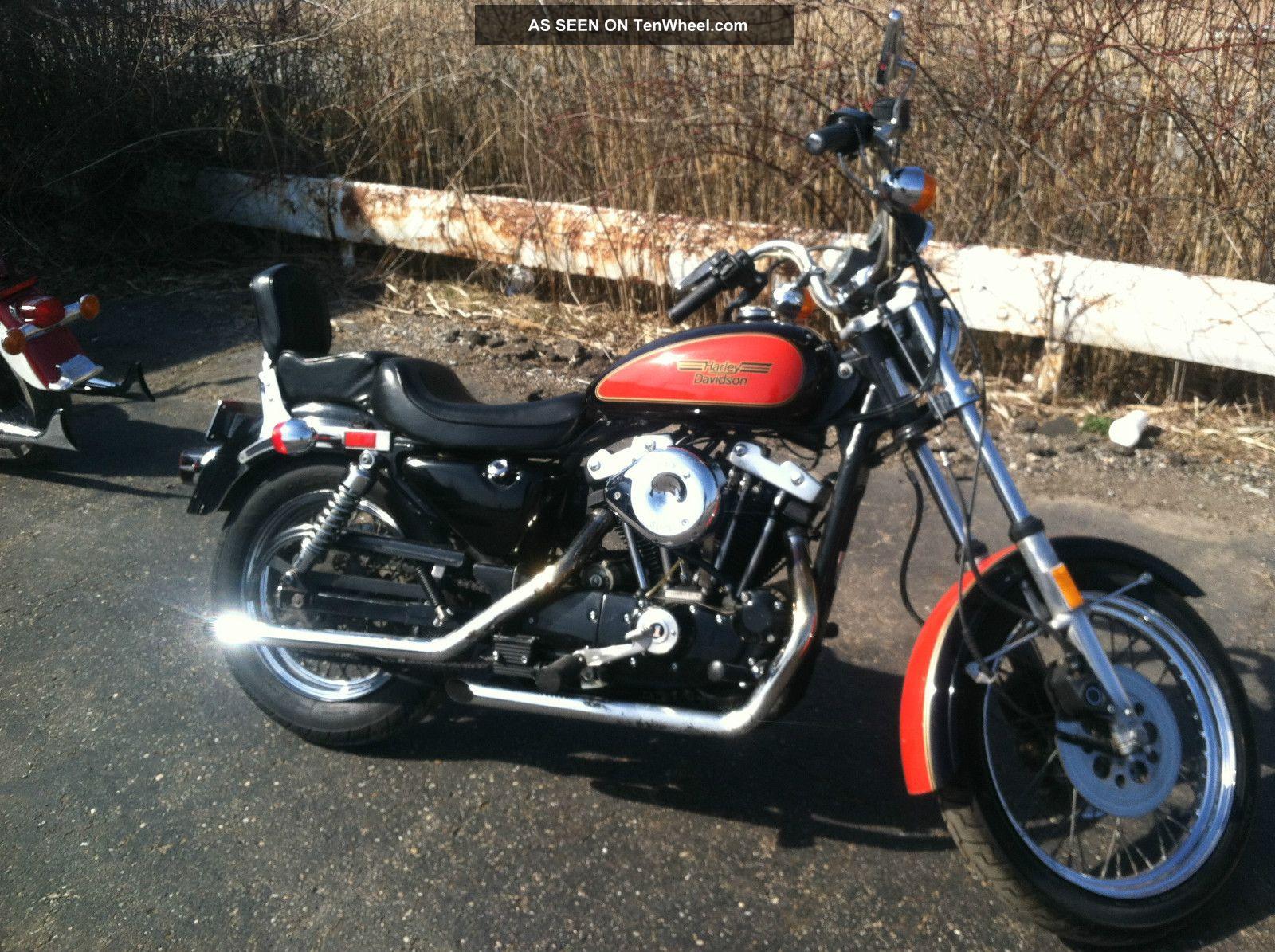 1982 Roadster Harley Davidson Paint Sportster photo