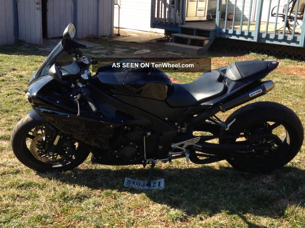 2011 Yamaha R1 Black Streched And Lowered Gytr Asv 1000cc