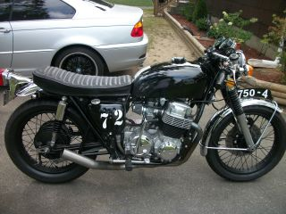 1972 Honda Cb 750k Cafe Racer Photo
