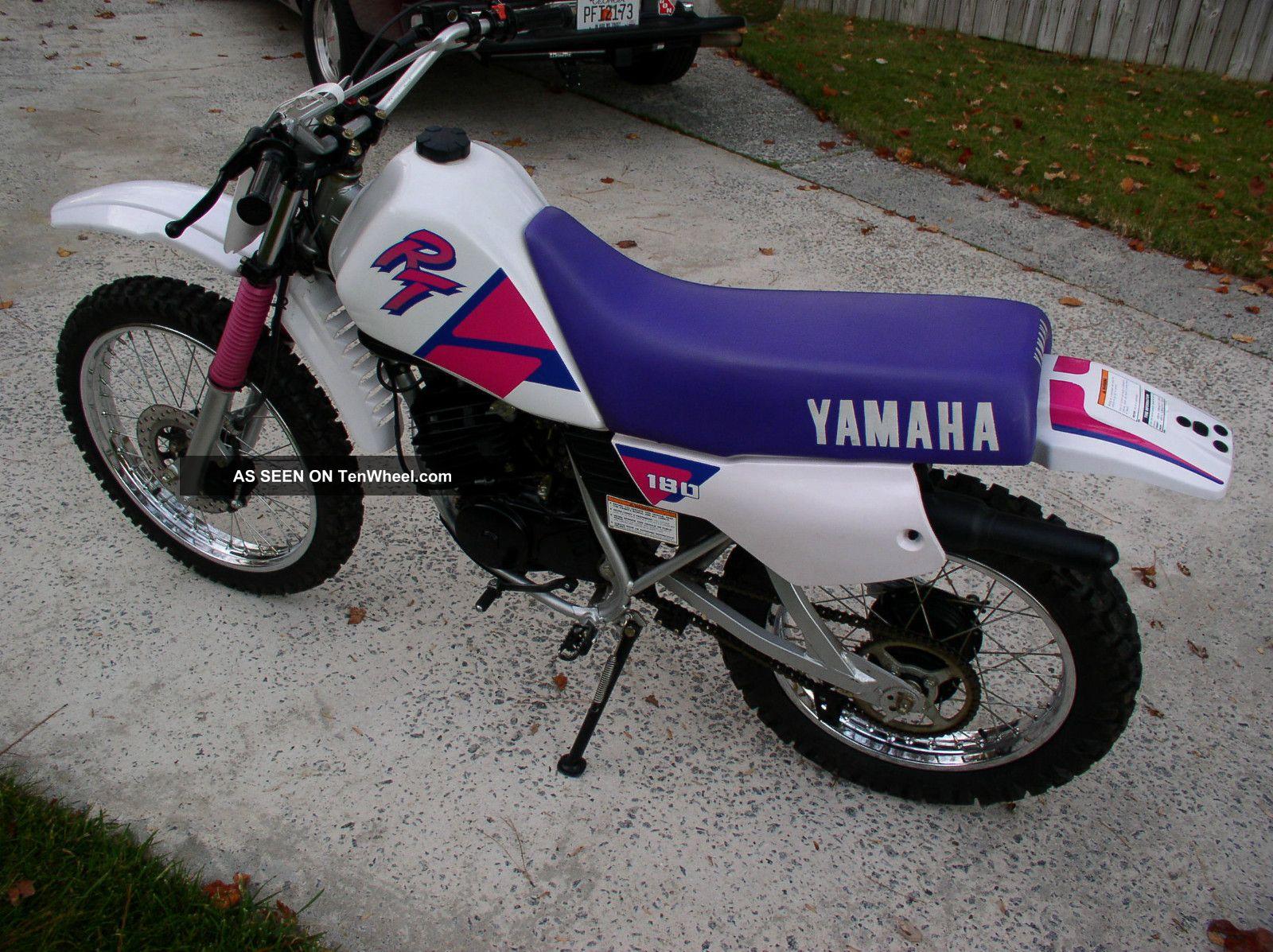 Yamaha Rt Dirt Bike Specs