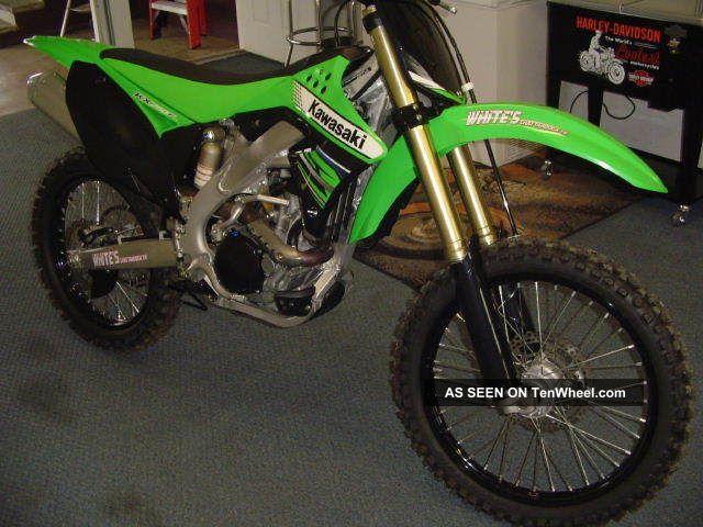 2012 Kawasaki Kx250f Mx Dual F / I KXF photo
