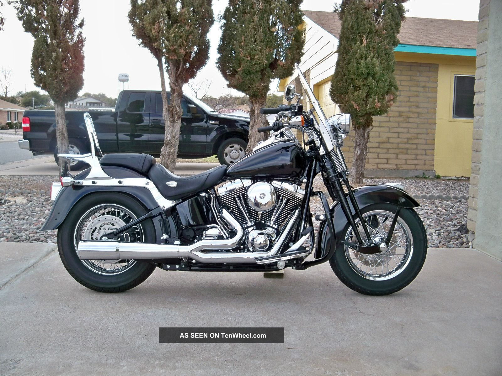 v star 1100 tail with 15197 2005 Harley   Davidson Softail Springer Classic Flstsci on 201437186818 together with Au in addition Yamaha xvs1100 D 20S 20C 2000 moreover Yamaha V Star 650 Bobber Tail End Customs besides Motorcycle Wire Color Codes.