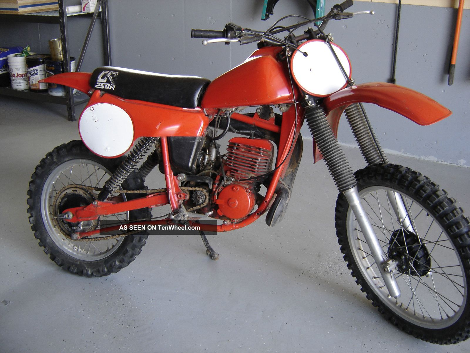 1980 Cr250r Elsinore Red Rocket Ahrma Vintage Motocross CR photo