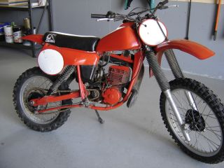 1980 Cr250r Elsinore Red Rocket Ahrma Vintage Motocross photo