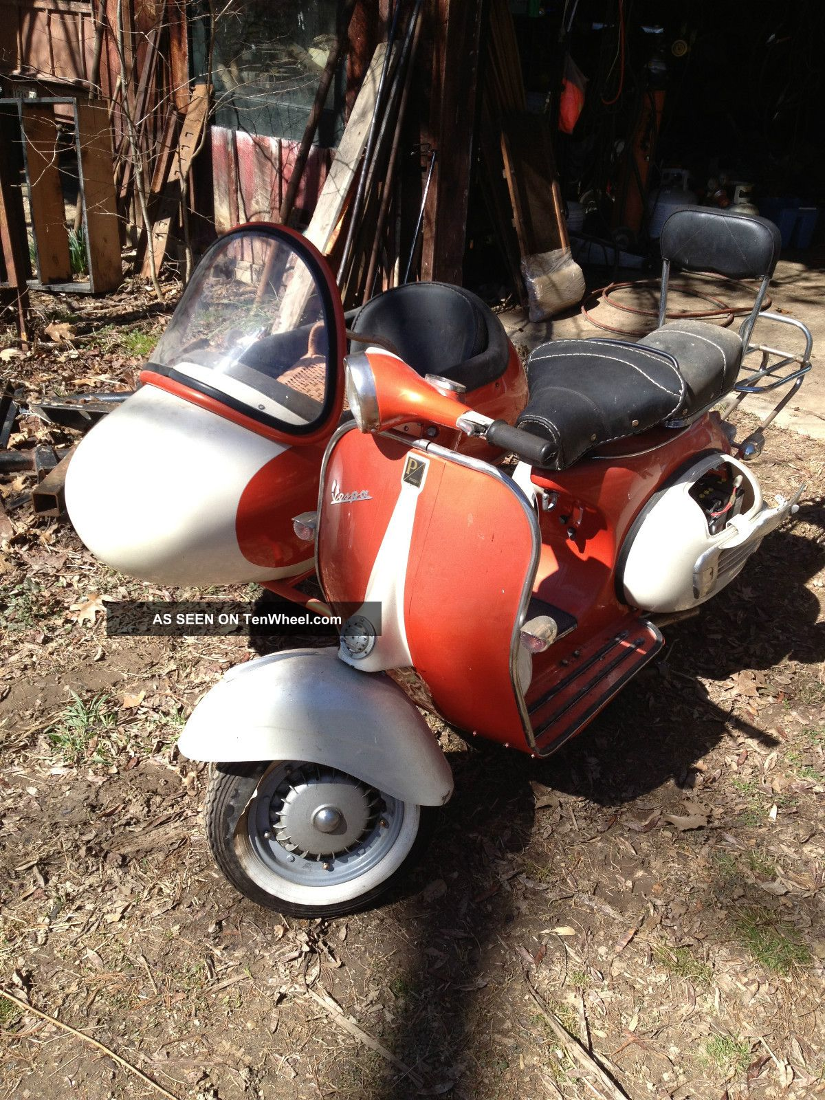 1964 Vespa 150 Scooter With Sidecar Other Makes photo