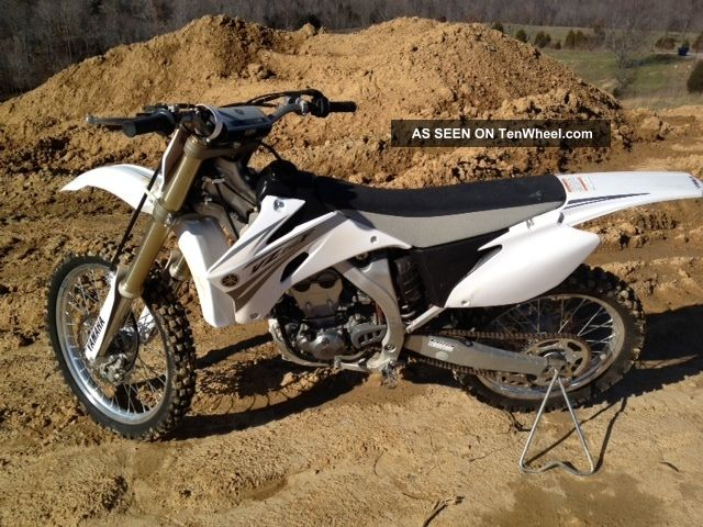 2007 Yamaha Yz250f Dirt Bike YZF photo
