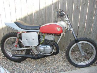 Bultaco Astro Mk6 360 1972 Vintage Flat Track Vista - Sheen Backup Bike Ama Ahrma photo