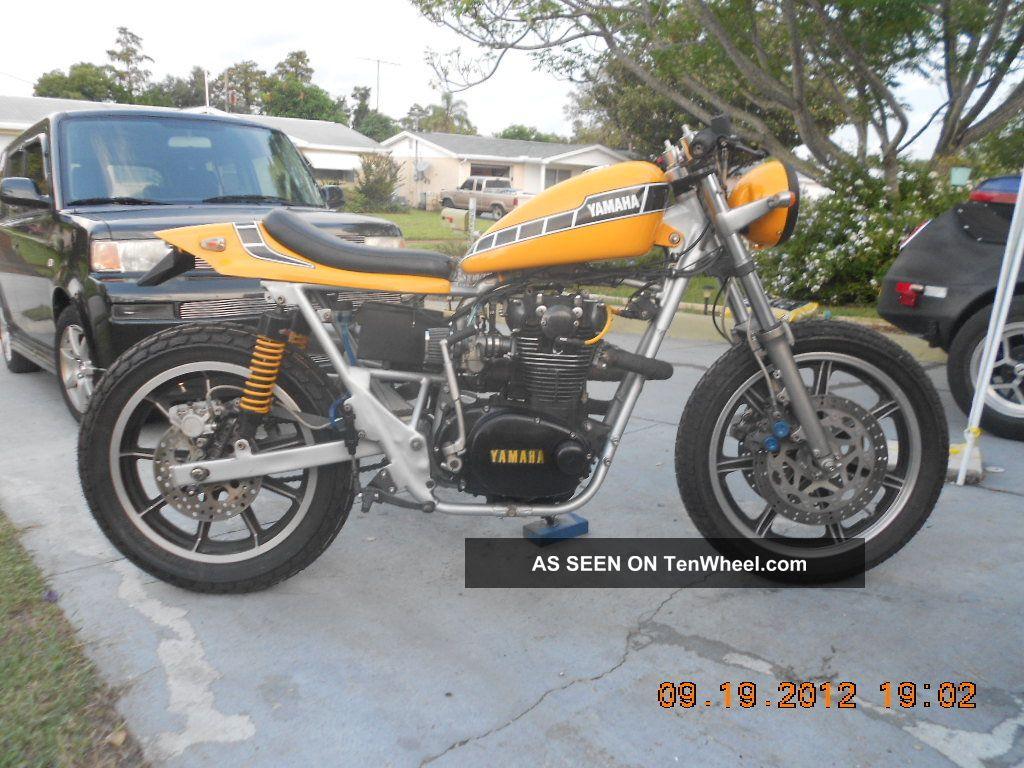 1972 Yamaha Xs650 Street - Tracker Not Xr750 Flat ...