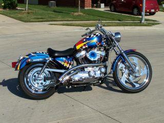 Hot Rod Harley >> Motorcycles - Harley-Davidson - Sportster Web Museum