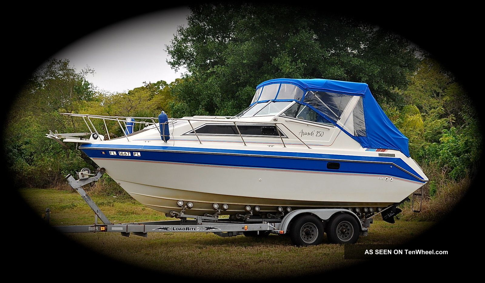 1989 Aquasport Marine (canada) Avanti 250 Cruiser Offshore Saltwater Fishing photo