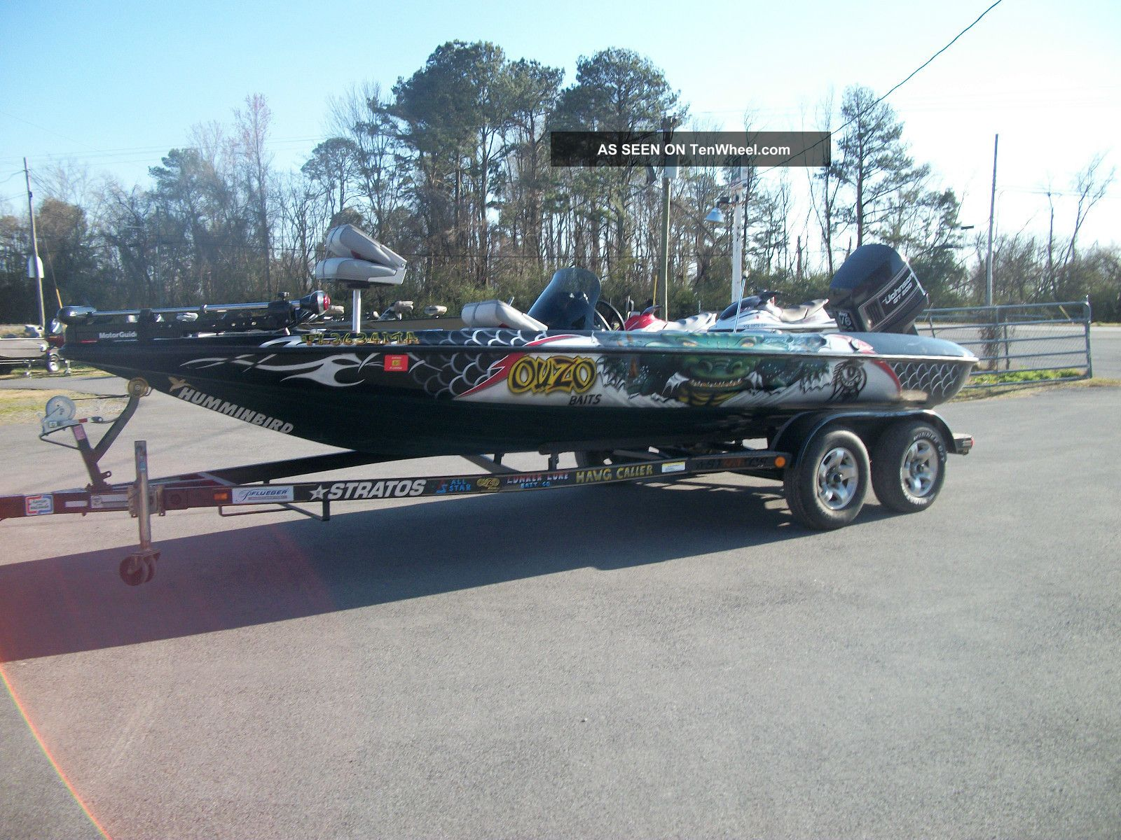 1999 Stratos 21ss Extreme Bass Fishing Boats photo
