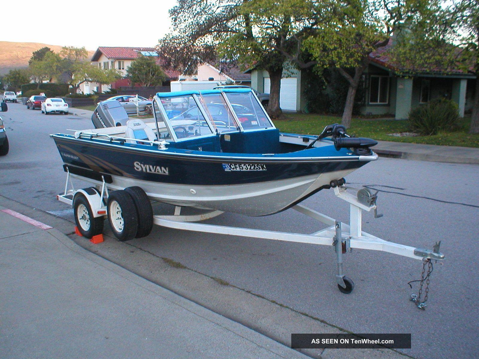 1996 Sylvan 16 Sport Select Other Freshwater Fishing photo
