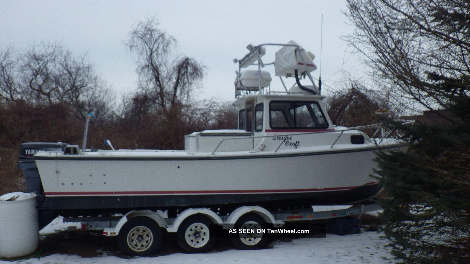 1991 Steiger Craft Chesapeake Bass Fishing Boats photo