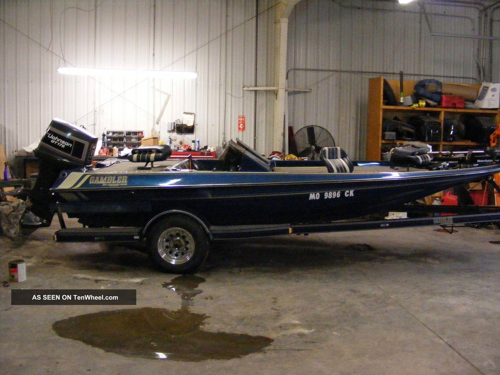 1989 Gambler 183 Gt Bass Fishing Boats photo