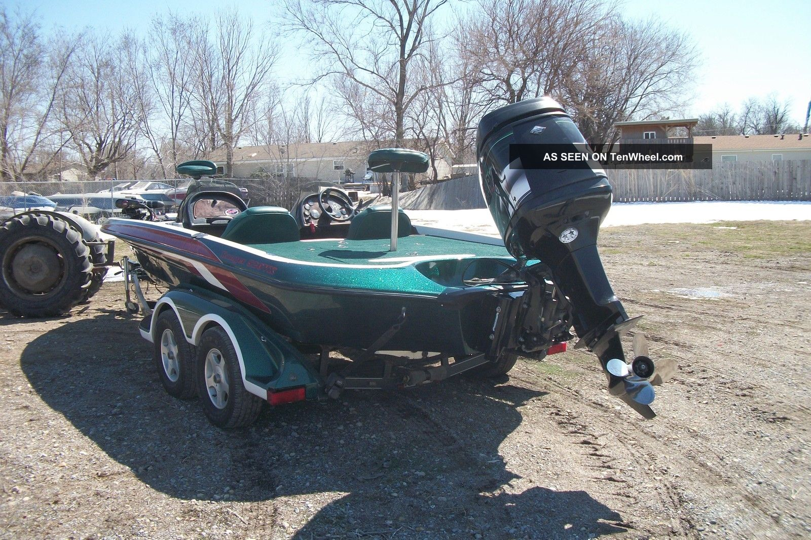 2000 Ranger Comanche Bass Fishing Boats photo