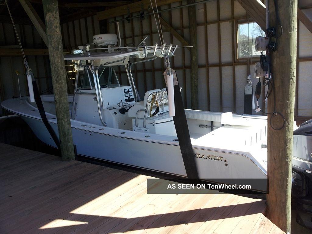 2008 Regulator 32 Open Offshore Saltwater Fishing photo