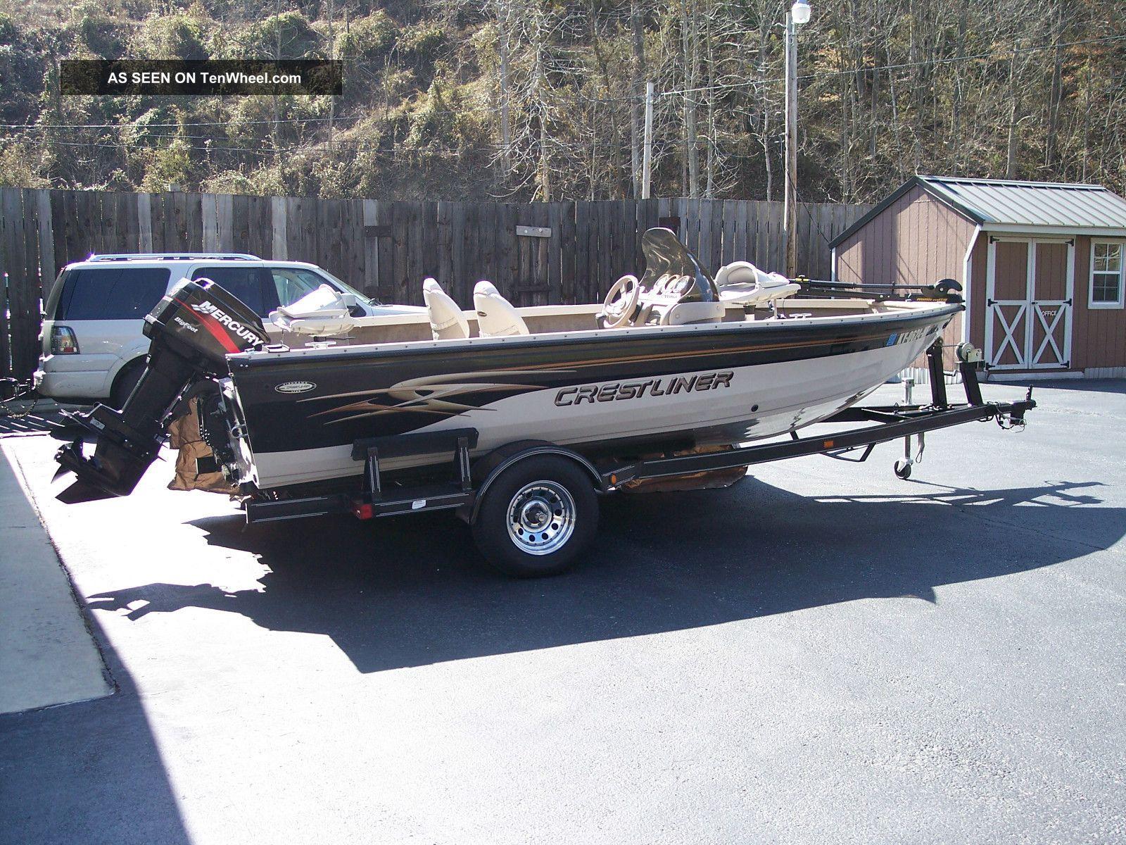 2002 Crestliner Fishhawk Bass Fishing Boats photo