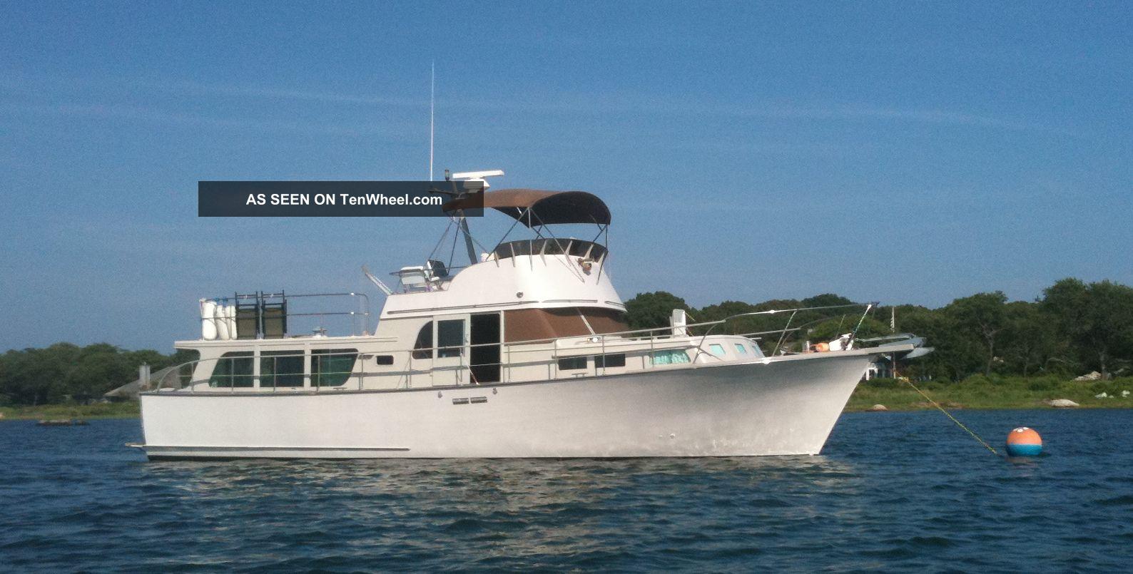 1970 Ferdinand Nimphius Custom Pilothouse Trawler Cruisers photo