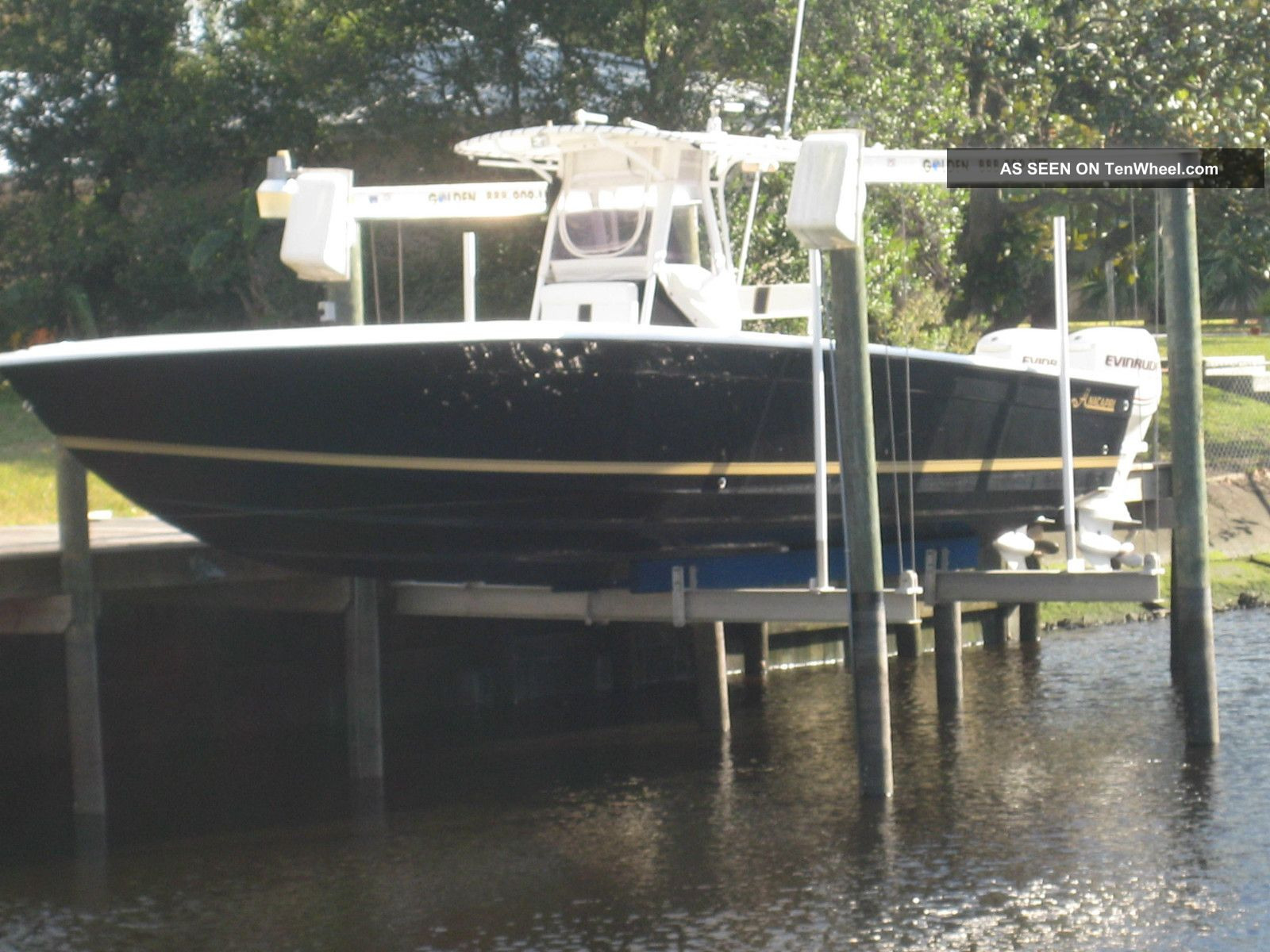 2007 Anna Capri 33 ' Center Console Offshore Saltwater Fishing photo