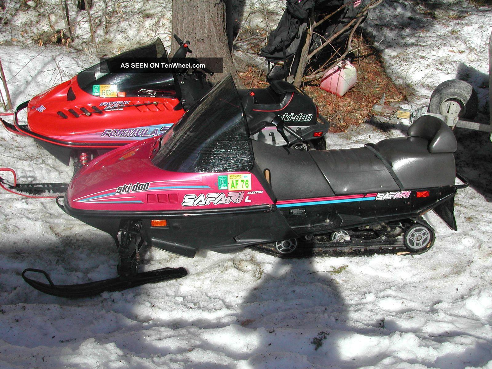 85 Ski Doo 377 Starter Diagram
