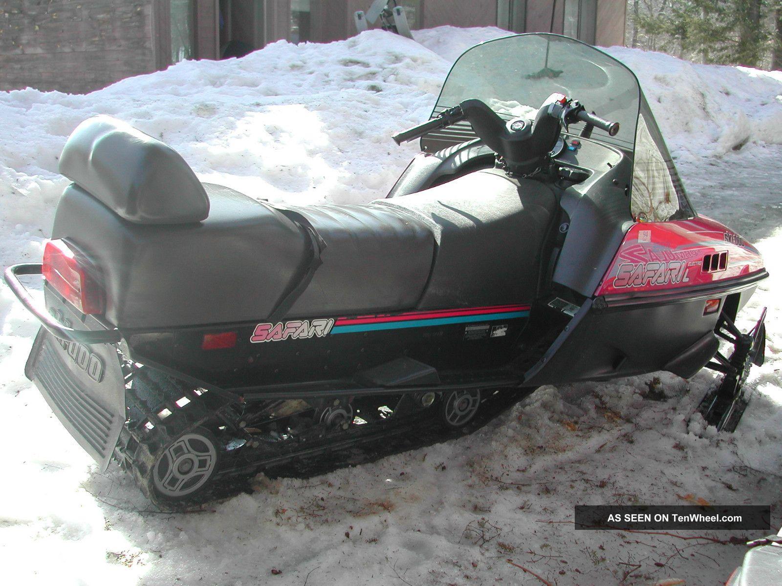 1994 ski doo 1994 formula z 1991 safari le rh tenwheel com Ski-Doo Safari 377 Parts 1994 Ski-Doo Safari Deluxe