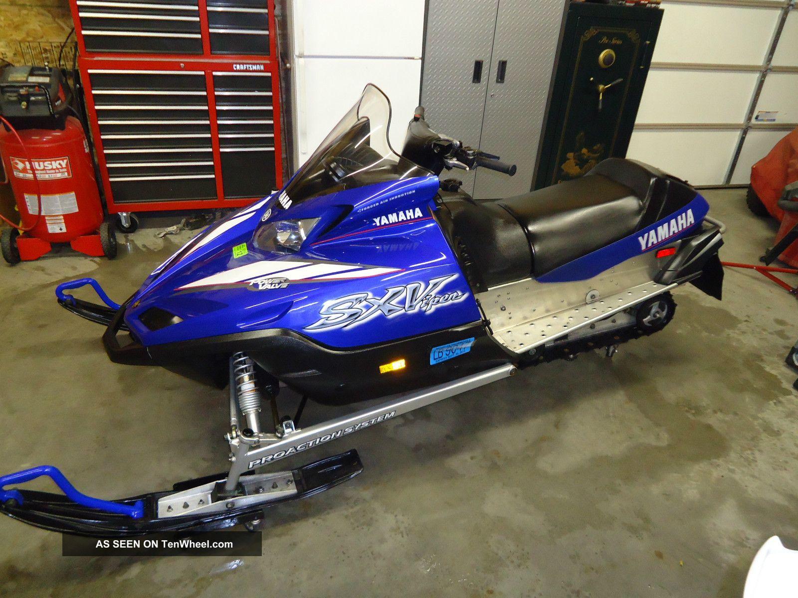 Yamaha Viper Snowmobile Specs