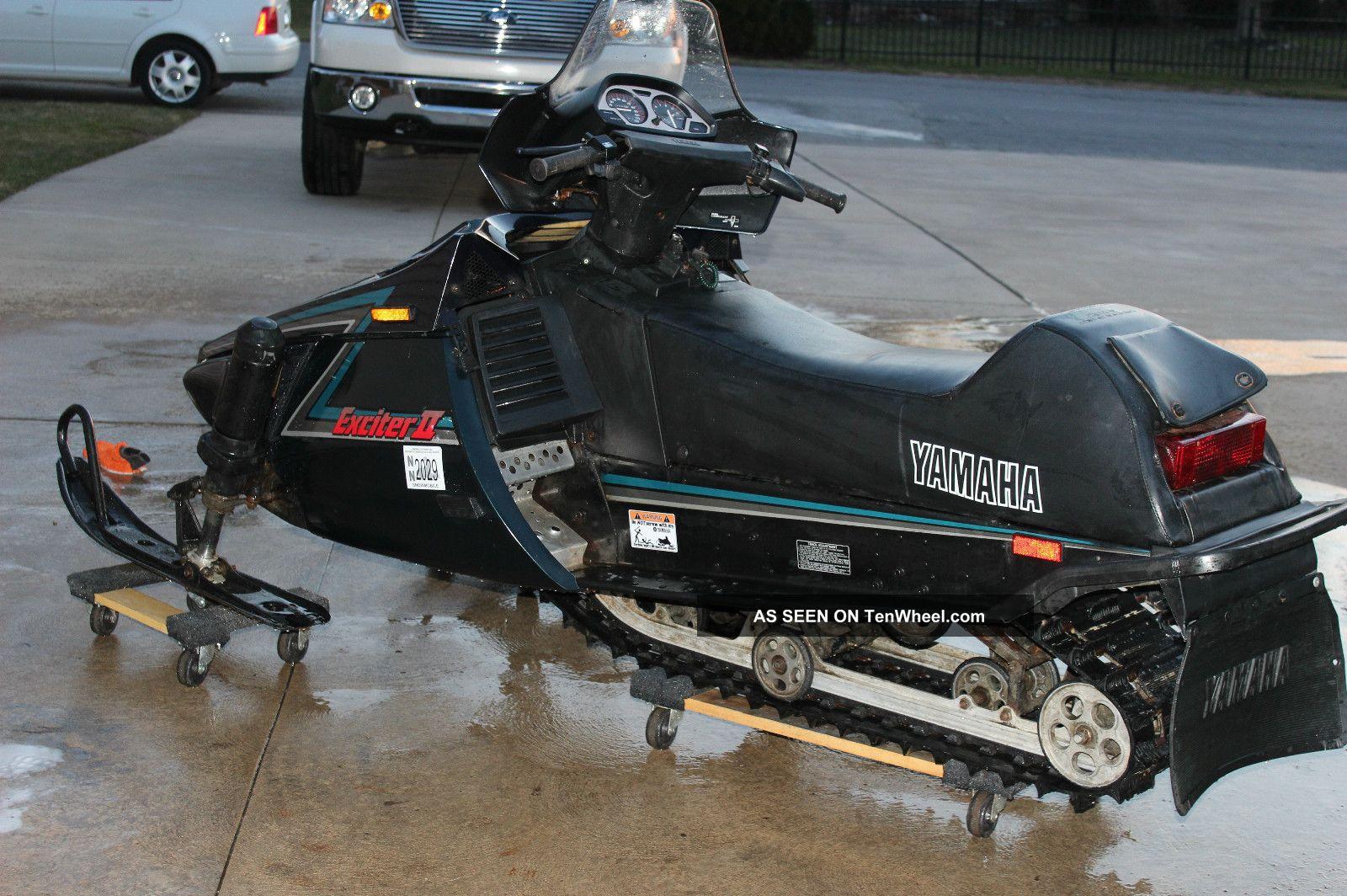 Yamaha Exciter Snowmobile