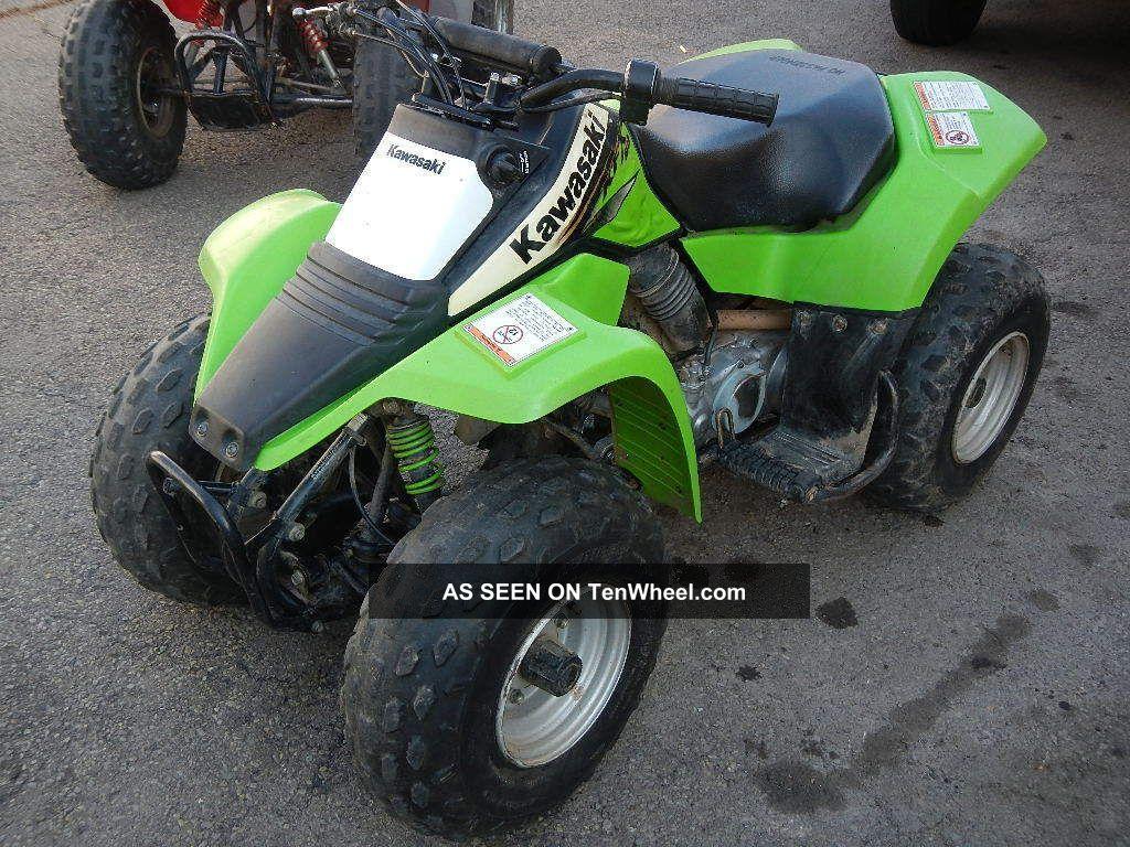 2003 Kawasaki Kfx 80 photo