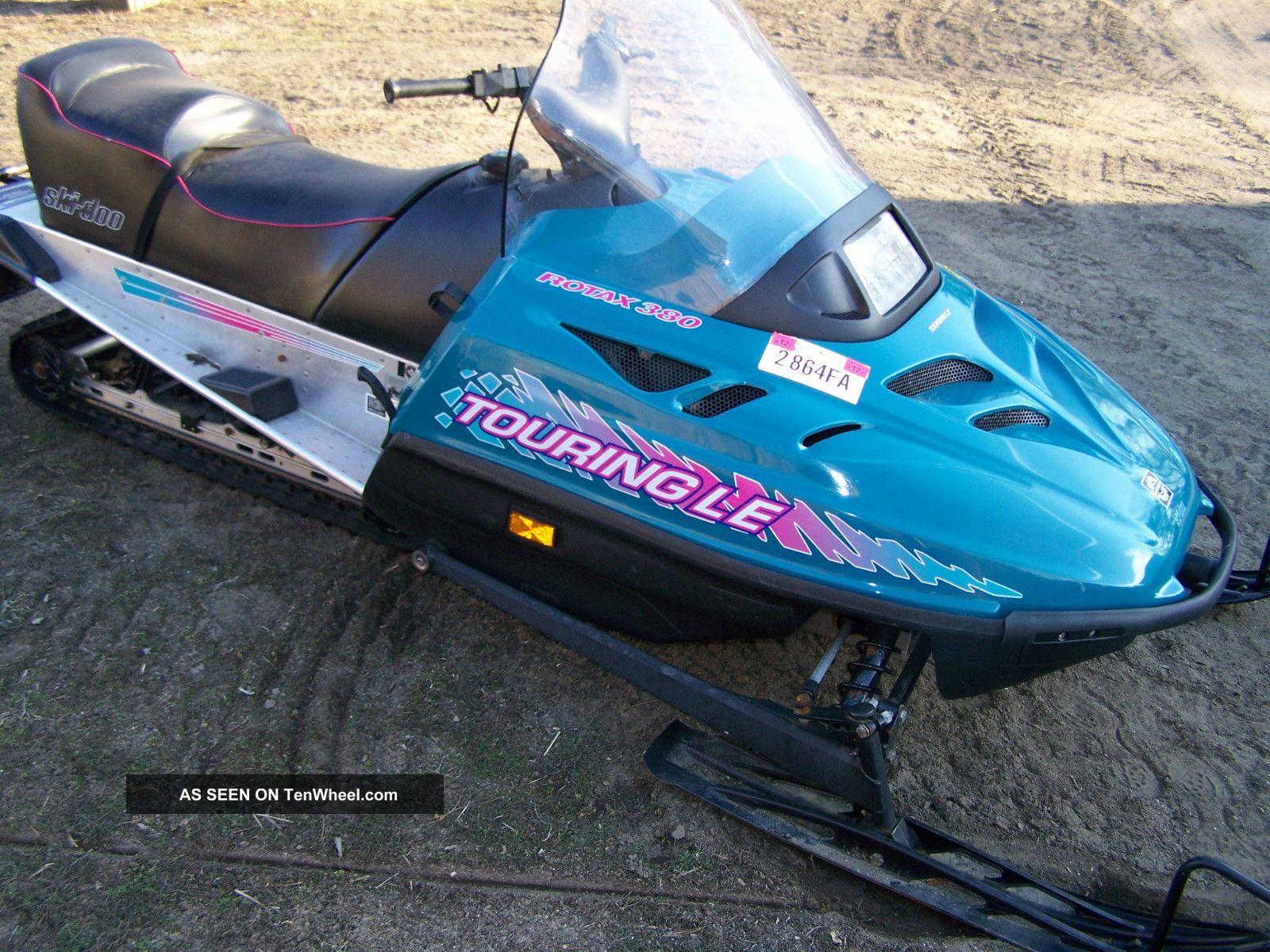 1995 ski doo touring e rh tenwheel com 1996 Ski-Doo Touring E Parts Catalog  1996 Ski-Doo Grand Touring