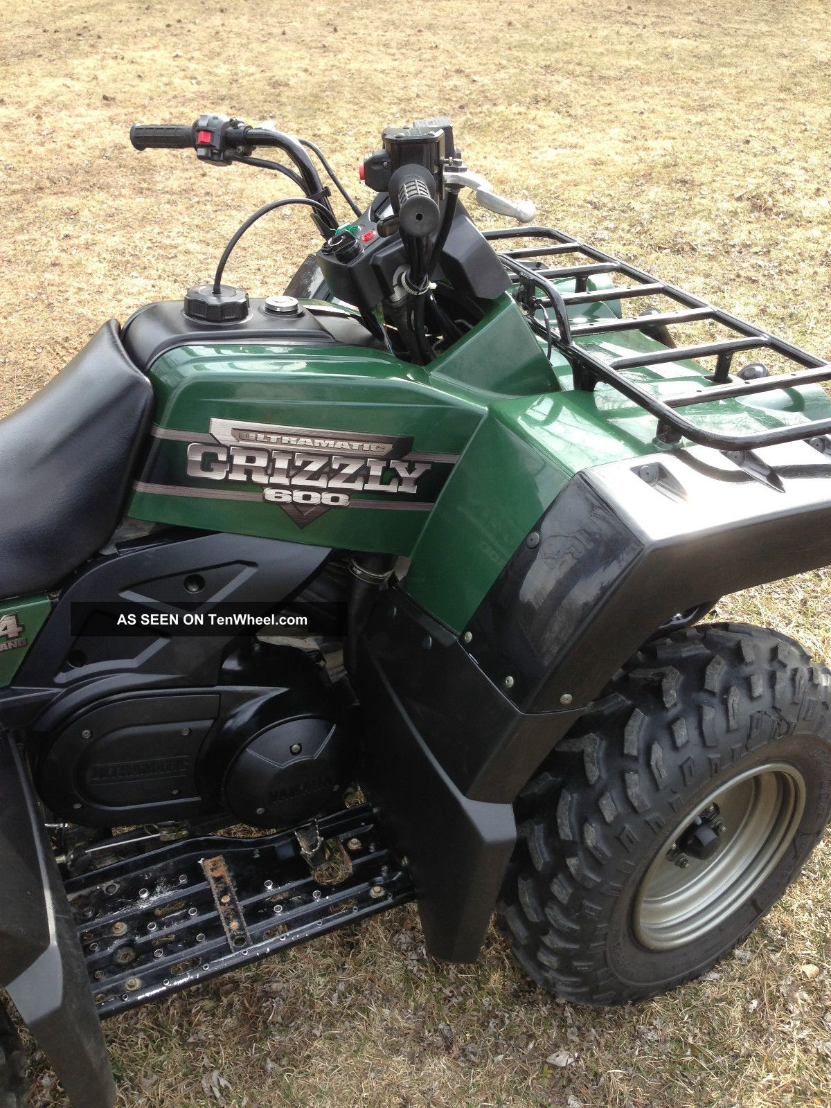 2000 yamaha grizzly 600 for Yamaha grizzly 600