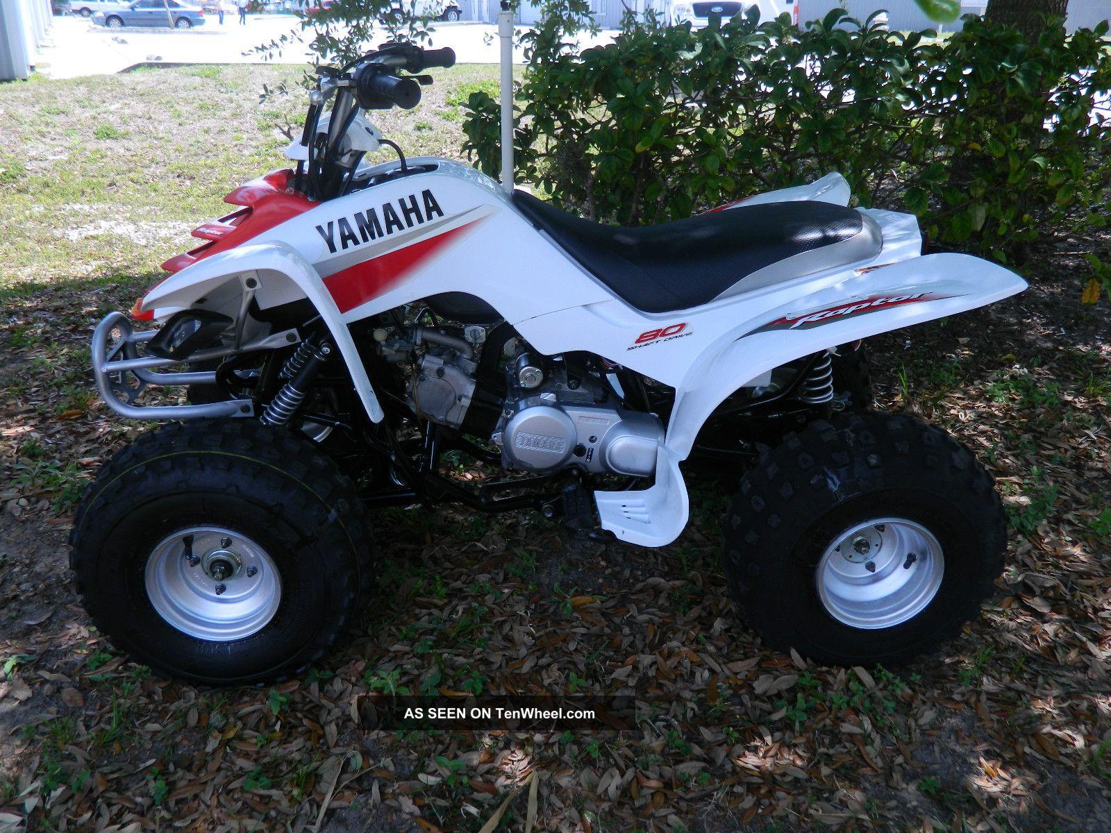 2006 Yamaha Raptor 80