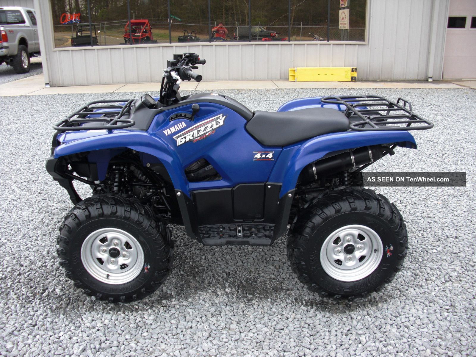 2009 yamaha grizzly for Yamaha grizzly 800