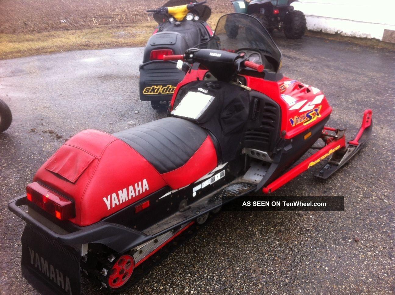 Yamaha Vmax Sx Specs
