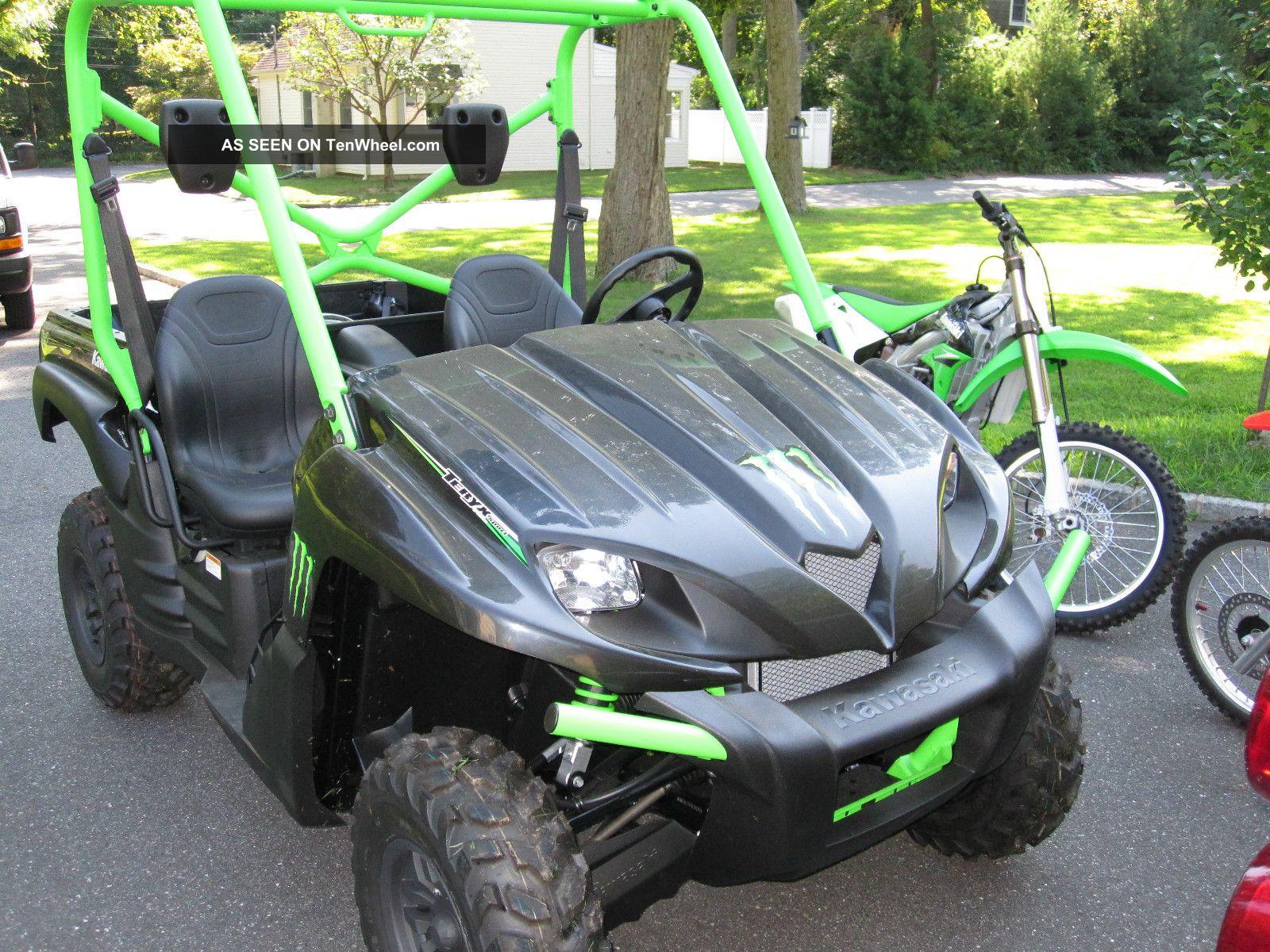 Kawasaki Teryx Monster Edition Specs