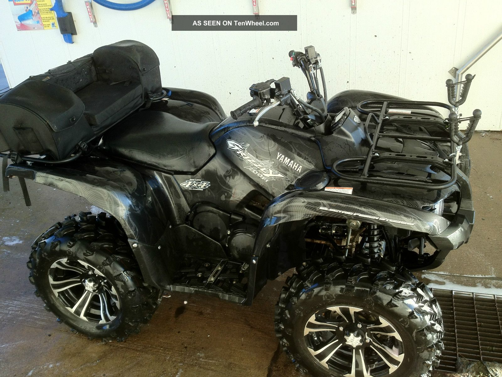 2014 grizzly 700 vs outlander autos post for Yamaha grizzly 800